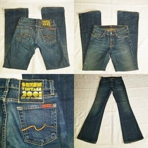 Women's Seven Vintage 2000 for all Mankind Jean's